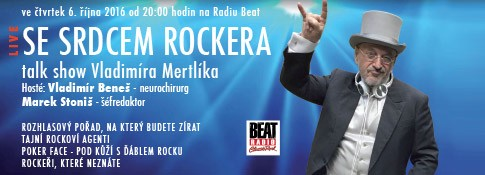 Se srdcem rockera (2016) - Radio Beat